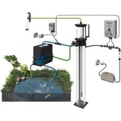 Exemple d'installation d'un écumeur pour bassin