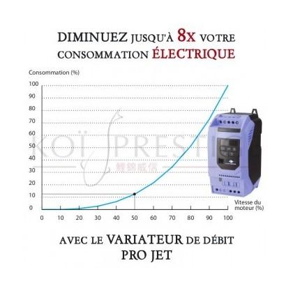 Pompe de bassin pression faible consommation