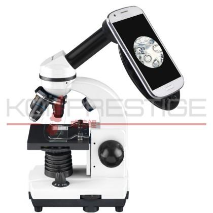 Microscope bassin avec support smartphone