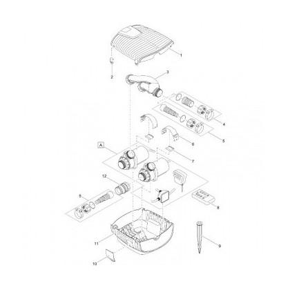 Pièce pour pompe AquaMax Eco Twin
