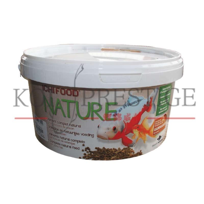 Ichi food nature nourriture naturelle pour poisson de bassin for Nourriture poisson rouge de bassin