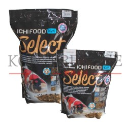 Ichi food select nourriture koi croissance et couleurs for Carpe koi croissance