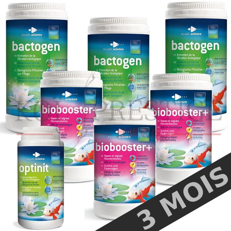 Bactéries bassin entretien 40 m3