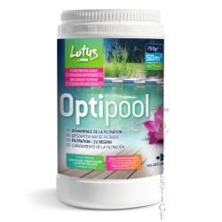 Optipool pour les sols glissants de piscine naturelle