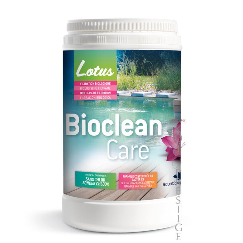 Biocleancare traitement pour piscine naturelle