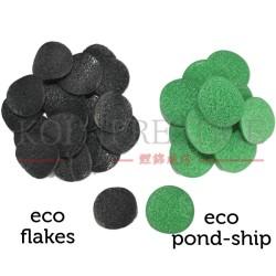 Eco Flakes et Eco-Pondchip
