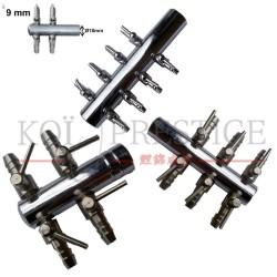Répartiteur d'air 18-9mm inox pour bassin