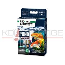 Test minéraux JBL POND Check ph/KH