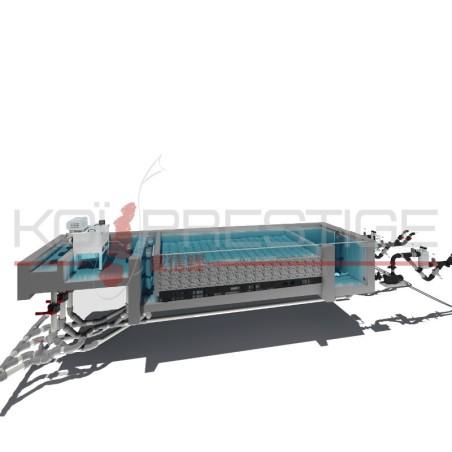 Plans 3D de filtration de bassin