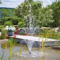 Ajutage de fontaine Volcan 43-3 Argent