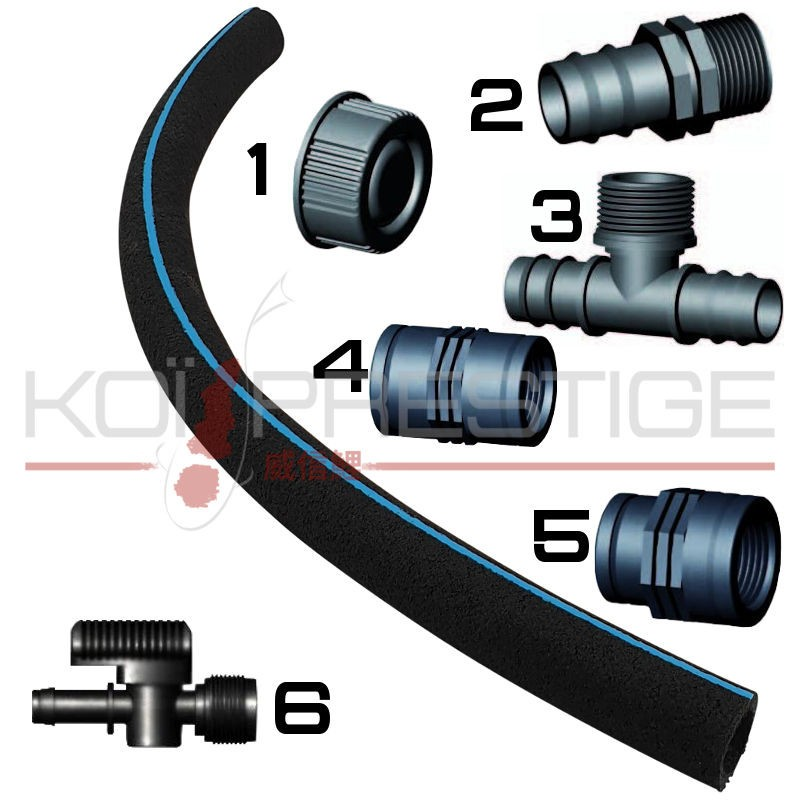 raccords pour tuyau japonais 16-25 mm