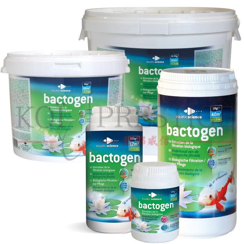 Bactogen,  bactéries pour bassin de jardin