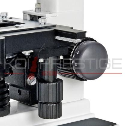 Réglage microscope Bresser Erudit DLX