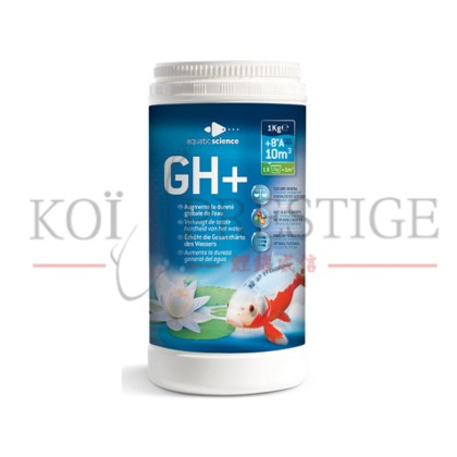 Gh + pour bassin de jardin