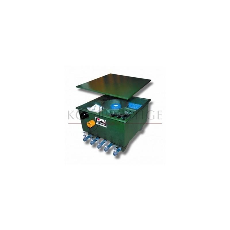Filtre pour bassin koi multi chambre vortex central for Filtre bassin koi