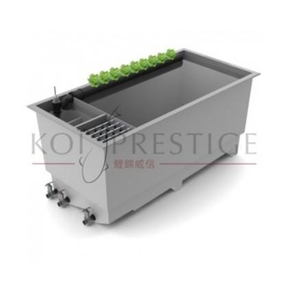 Multipond un bassin koi complet avec filtration unique et for Pompe bac a poisson