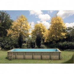 Piscine naturelle Crystal Wood