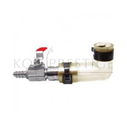 Raccord réducteur avec vanne 18 - 9 mm