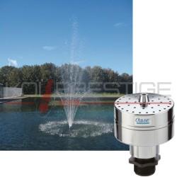 Ajutage de fontaine Volcan 46-3 Argent