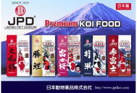 Achetez votre nourriture pour carpe koi JPD (Japan pet design)