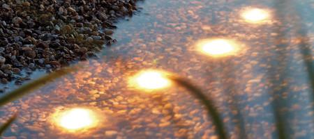 Eclairage de bassin lunaqua maxi led set la qualit for Eclairage bassin