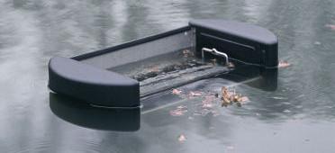 Filtre de surface pour tang et grand bassin oase skimmer 250 for Filtre etang