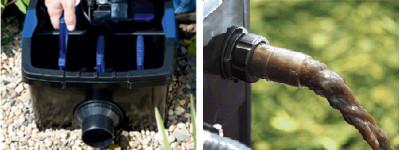 Oase FiltoMatic CWS, un filtre efficace pour bassin de jardin sans koï