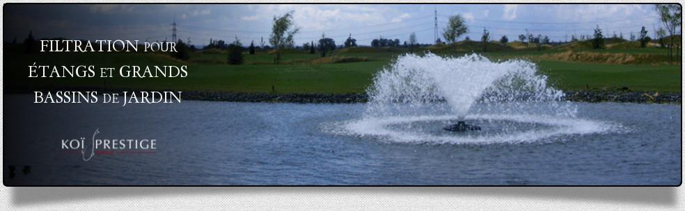 Filtration tang et grand bassin de jardin une qualit d 39 eau optimale - Filtration bassin de jardin ...